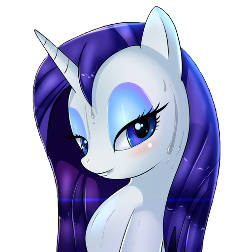 Rarity Wet Mane
