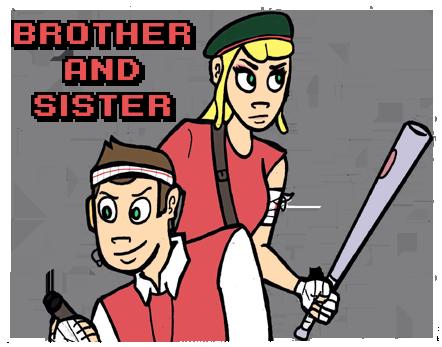 Siblings. Spray preview