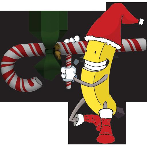 Christmas Bazooka Mascot