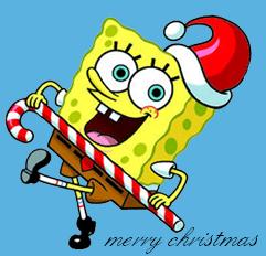 Spongebob Christmas Spray preview