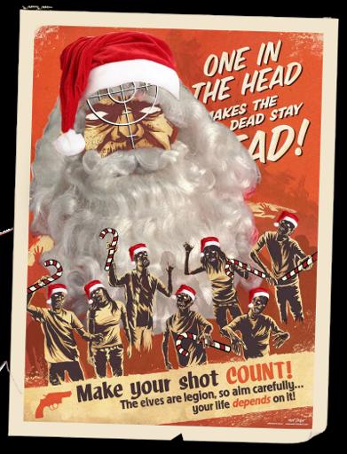 Christmas Propaganda Poster