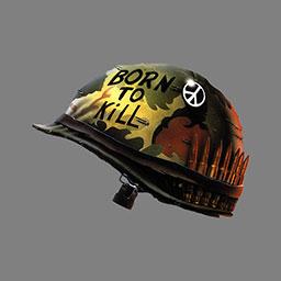 Born to Kill Helmet  CounterStrike Source Sprays