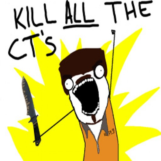 Kill ALL The CTs! (Jail Break) Spray screenshot #1