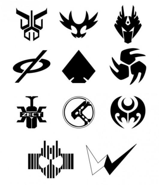 Kamen Rider Symbol Sprays Pack (Counter-Strike 1.6