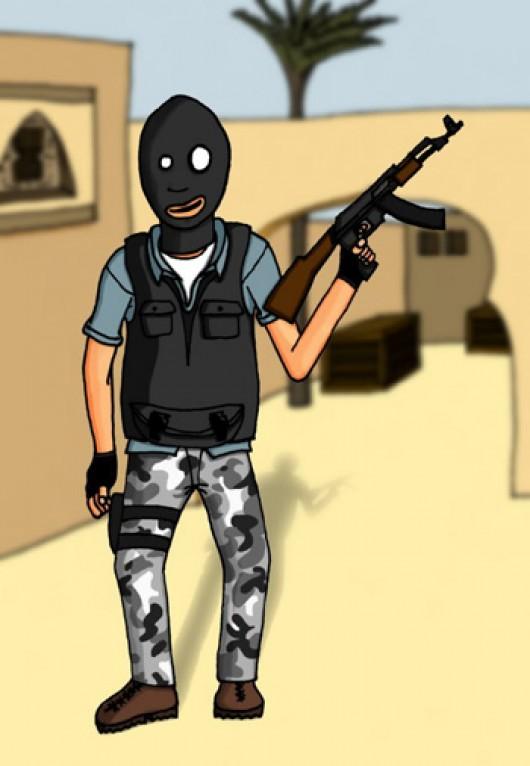 Cartoon Terror Counter Strike Condition Zero Sprays