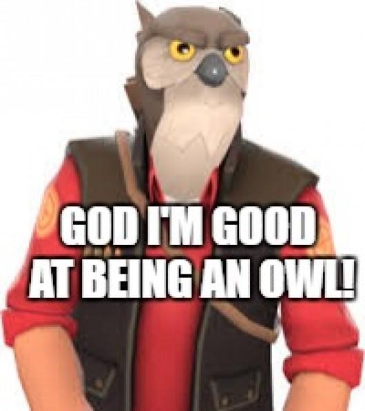 Owl Sniper Spray Team Fortress 2 Sprays