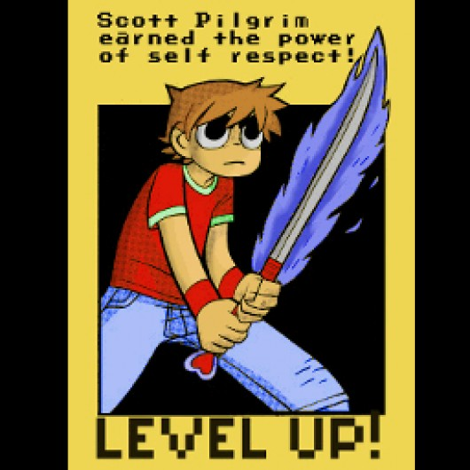 Scott Pilgrim Level Up