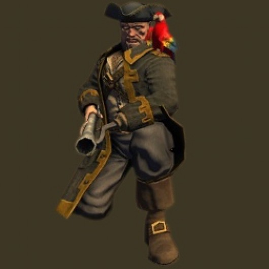 Captain with Blunderbuss