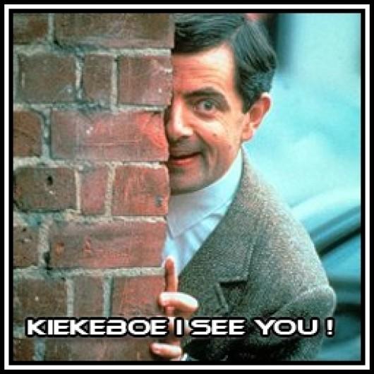 Kiekeboe I See You