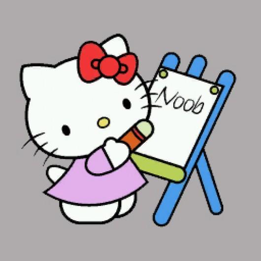 Hello Kitty Spray Paint Pullover