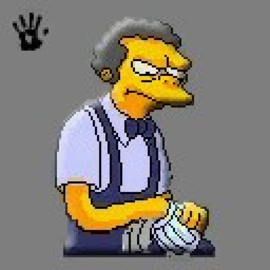 Moe At Work