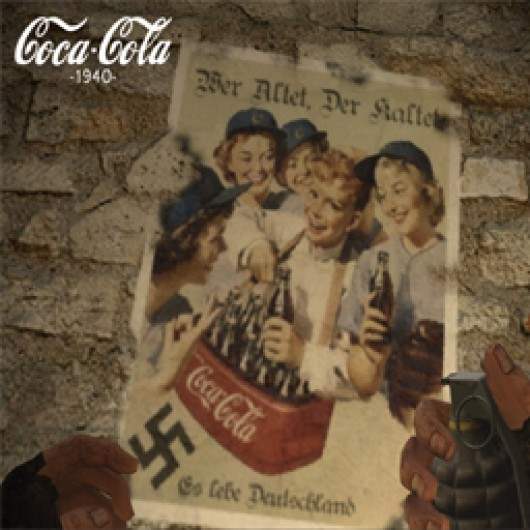 Coca Cola Nazi Prop.   Day of Defeat: Source Sprays