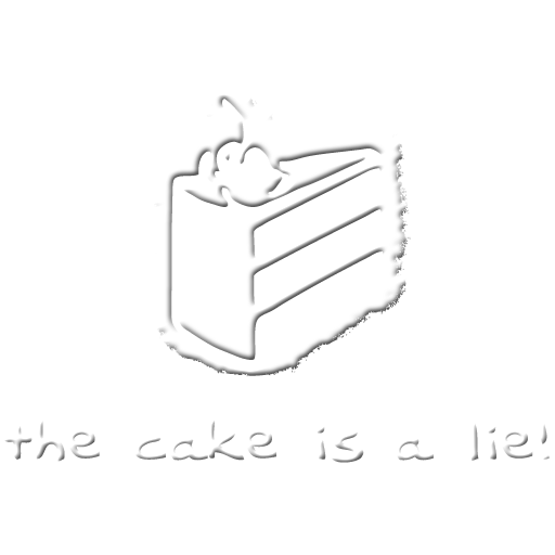 The Cake Is A Lie Spray preview