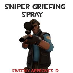 Sniper Griefing Spray Spray preview