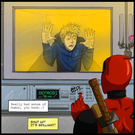 Deadpool meets Jack Frost Spray preview