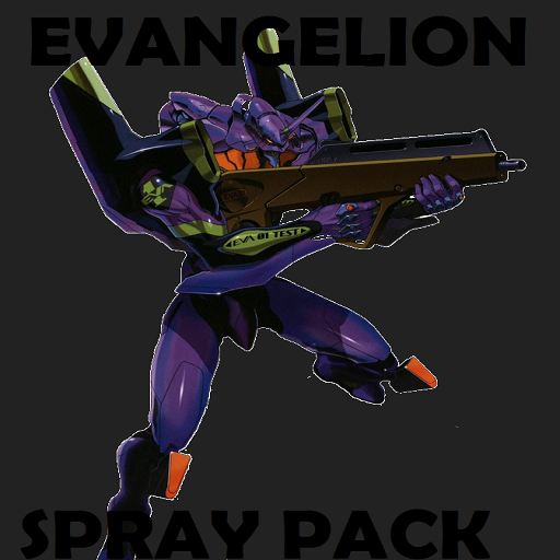 Evangelion BIG spray pack Spray preview