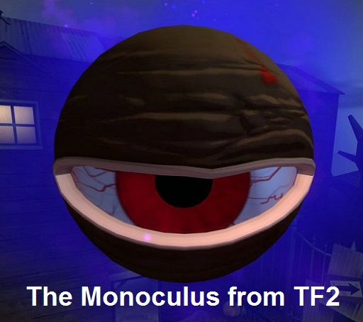 Monoculus from two worlds (fading spray) Spray preview