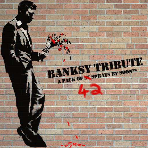 Banksy - The Tribute - 42 sprays