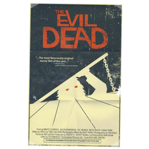 Evil Dead Poster Spray preview
