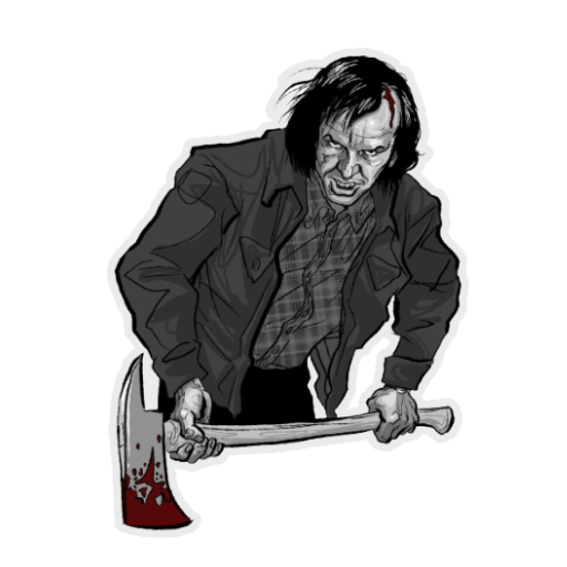 Jack Torrance Decal Spray preview