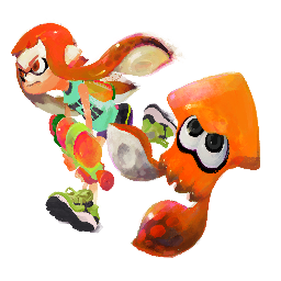 Orange Inkling preview