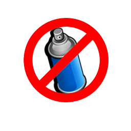 Be ECO-Friendly and don't spray on the maps ! Spray preview