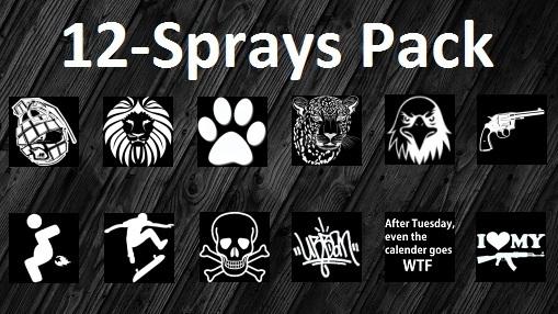 12 Sprays Pack Spray preview