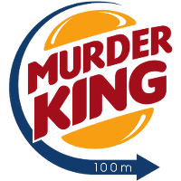 Pixel Perfect Murder King Logo