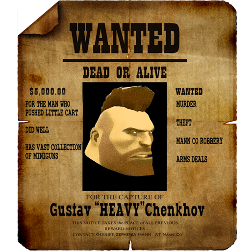 Wanted Heavy Poster v2.0