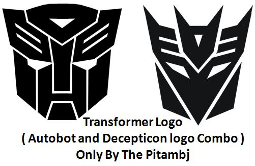Transformer Logo ( Autobot and Decepticon logo ) Spray preview