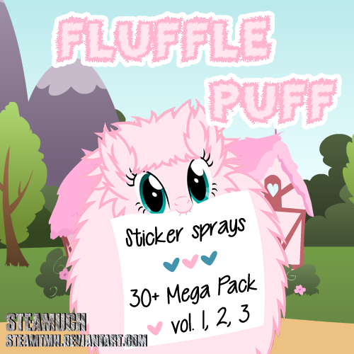 Fluffle Puff Mega Sticker Pack