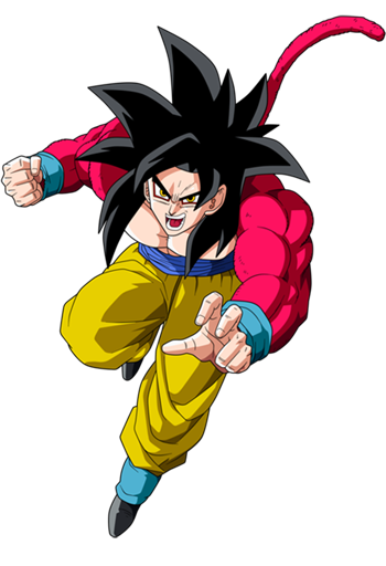 Goku Super Saiyan 4 Spray preview