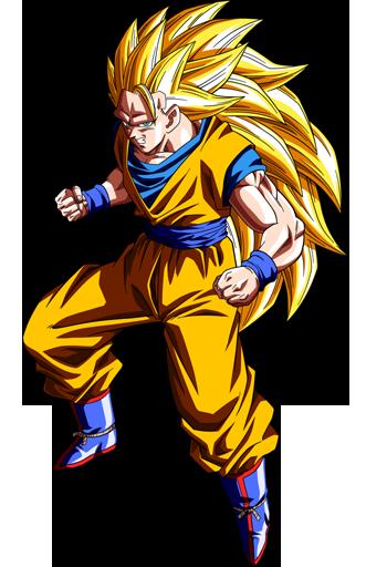 Goku Super Saiyan 3 Spray preview