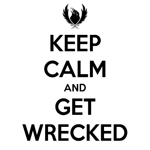 Keep Calm and Get Wreked Spray preview
