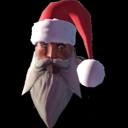 Suspicious Heavy Santa