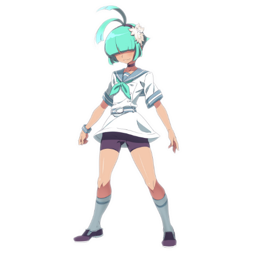 A cute trainer appears! Spray preview