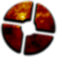 Burning TF2 Symbol Spray preview