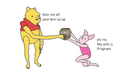 Winnie the Pooh Spray preview