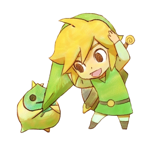 Link and Makar Spray preview