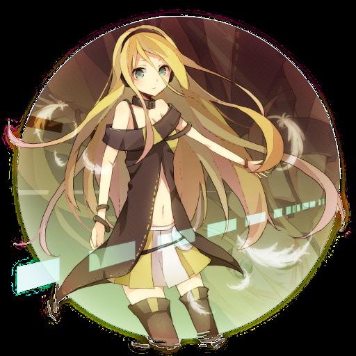 Digital Lily (Team Fortress 2 > Sprays > Anime Art