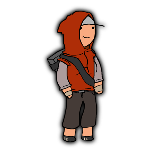 A Scout Cartoon