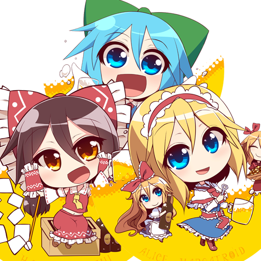 Touhou Chibi Pack (kuresento) Spray preview