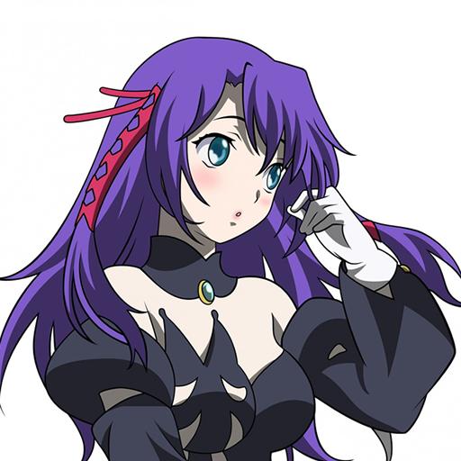 Anime Girl Black Hair LWP Spray Preview