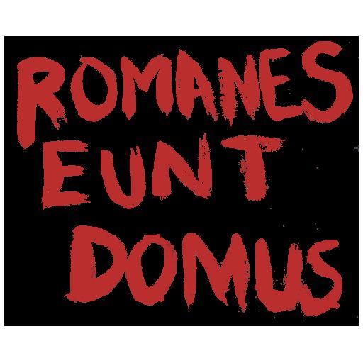 """""""Romanes Eunt Domus"""" Graffiti"""