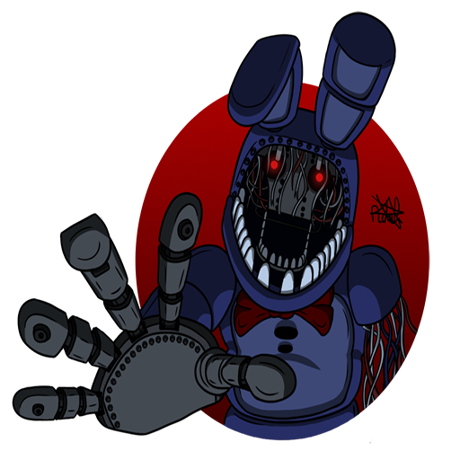Withered Bonnie Spray - Transparent