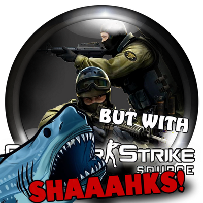 Counter strike source, But With Sharks