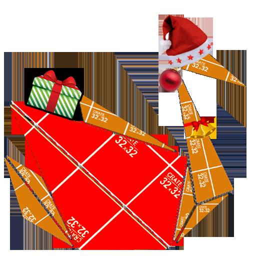 Origami Xmas Duck