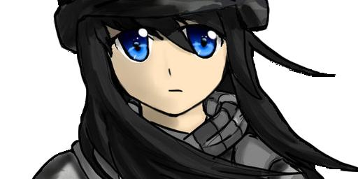 Female Anime Soldier - 13 versions by Hawkkun