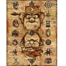 Gravity Falls Seasons 2 Ending Cards(Completed) Spray preview
