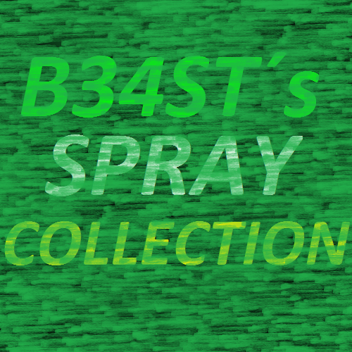 B34ST´s Spray Collection